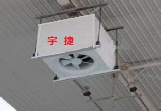 三门峡大空间暖风机及其运行控制方法